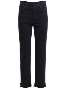 The Scrapper Straight Denim Jeans Mother 72IRTB010-V1NO0