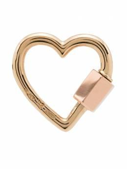 Marla Aaron подвеска в форме сердца из розового золота MABHLYGRG