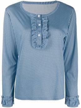 Viktor & Rolf пижамный топ с оборками и принтом 15243523