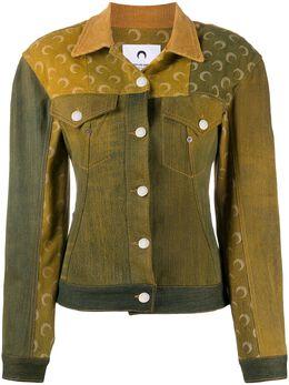 Marine Serre джинсовая куртка J036FW20WUNCO00044