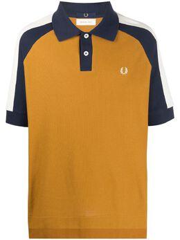 Fred Perry рубашка поло в стиле колор-блок SM9007