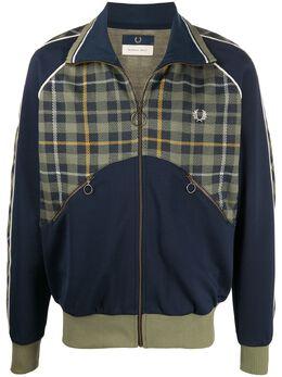 Fred Perry легкая куртка с контрастной вставкой SJ9003