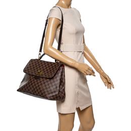 Louis Vuitton Damier Ebene Canvas Bergamo GM Bag 339453