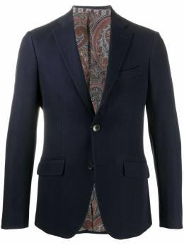 Etro однобортный пиджак 1187Q0092