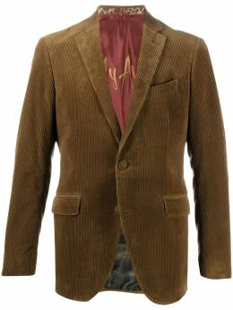 Etro однобортный вельветовый пиджак 118070135