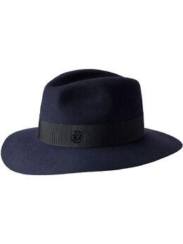 Maison Michel шапка с декоративной строчкой 1002081002