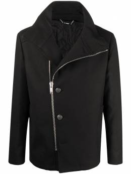 Les Hommes пальто на молнии с воротником-стойкой LJQ300313L