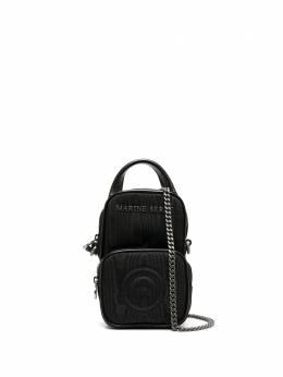 Marine Serre мини-сумка Pocket с металлическим логотипом B002FW20WWOTVI0001