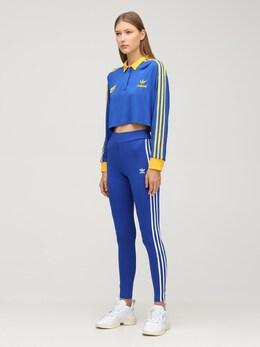 Рубашка-поло 70s 3 Stripes Adidas Originals 72I0N6002-VEVBTSBST1lBTA2