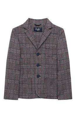 Хлопковый пиджак Il Gufo A20BF011M5033/10A-12A