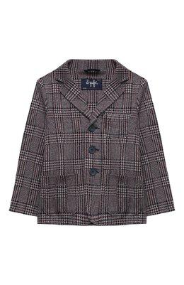 Хлопковый пиджак Il Gufo A20BF011M5033/5A-8A