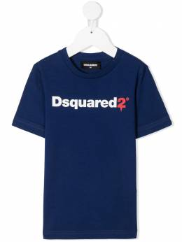 Dsquared2 Kids футболка с логотипом DQ046TD00XG