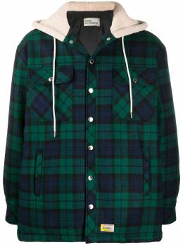 Drole De Monsieur куртка-рубашка в клетку тартан FW20JT004