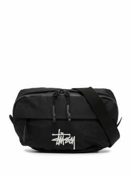 Stussy поясная сумка с логотипом 134234