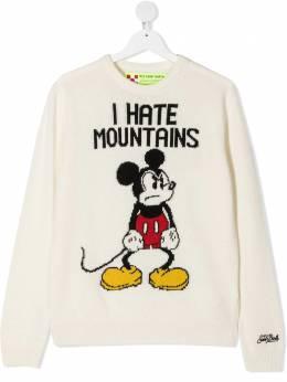 Mc2 Saint Barth Kids джемпер Angry Mickey вязки интарсия DOUGLAS