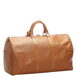 Louis Vuitton Brown Epi Leather Keepall 50 Bag 333361
