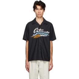 Stussy Black Cruising Short Sleeve Shirt 1110123