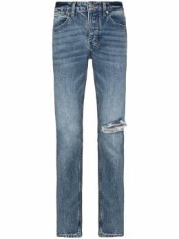Ksubi джинсы скинни с прорезями 5000005200