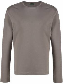 Zanone футболка с длинными рукавами 811926ZM301