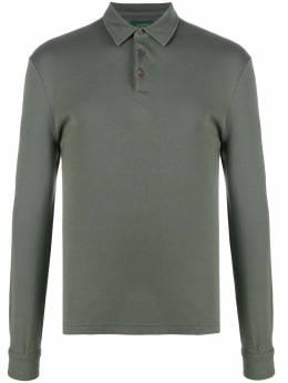 Zanone рубашка поло с длинными рукавами 811927ZM301