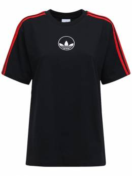 Футболка 3 Stripe Circle Adidas Originals 72IGZU044-QkxBQ0s1