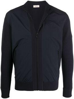 Z Zegna куртка на молнии со вставками VVP61ZZ157