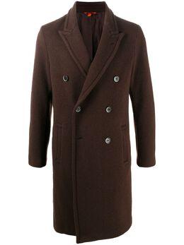 Barena двубортное пальто CSU29080001
