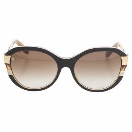 Louis Vuitton Gold Tone/ Brown Gradient Z0487W Petit Soupcon Cat Eye Sunglasses 339366