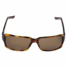 Gucci Havana/ Brown GG 1451/S Rectangular Sunglasses 341038