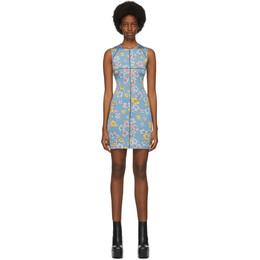 Eckhaus Latta SSENSE Exclusive Blue Floral Sport Dress 945-EL-PF20-SF