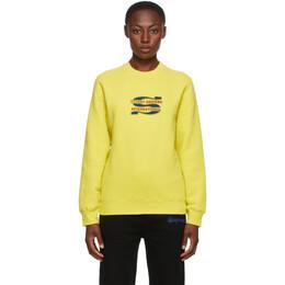 Stussy Yellow Steam Sweatshirt 2911186