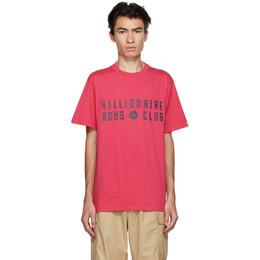 Billionaire Boys Club Pink EU Logo T-Shirt B20348