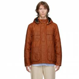 Barbour Orange Norse Projects Edition Wax Ursula Jacket MWX1731OR51