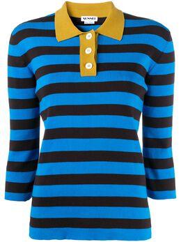 Sunnei рубашка поло в полоску WPO01