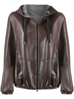 Brunello Cucinelli куртка с капюшоном MPNVS8324C7885