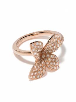 Pasquale Bruni кольцо Petit Garden из розового золота с бриллиантами 15376R