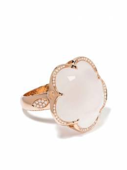 Pasquale Bruni кольцо Bon Ton из розового золота с кварцем и бриллиантами 15043R