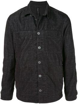Transit куртка-рубашка из ткани шамбре CFUTRMB112