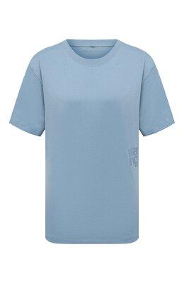 Хлопковая футболка T By Alexander Wang 4CC1201152