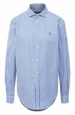 Хлопковая рубашка Polo Ralph Lauren 211784161