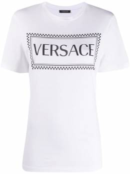 Versace Collection logo-print crew neck T-Shirt A83915A228806
