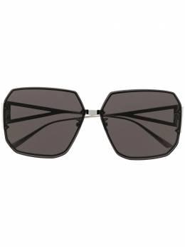 Bottega Veneta Eyewear солнцезащитные очки в восьмиугольной оправе BV1085SA