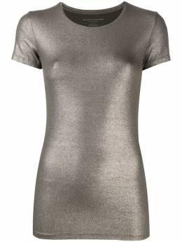 Majestic Filatures футболка с круглым вырезом и эффектом металлик M014FTS007
