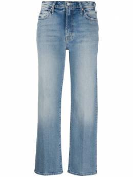 Mother укороченные джинсы прямого кроя 10065844