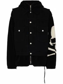 Mastermind Japan многослойная куртка MW20S05BL002001