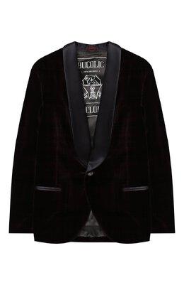 Бархатный пиджак Brunello Cucinelli BQ401S703C