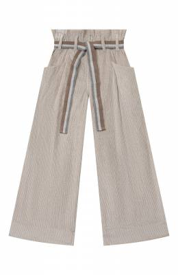 Хлопковые брюки Brunello Cucinelli BB543P024C
