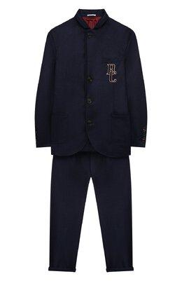Шерстяной костюм Brunello Cucinelli BE226A108B