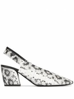 Pierre Hardy туфли Alpha с ремешком на пятке RC07
