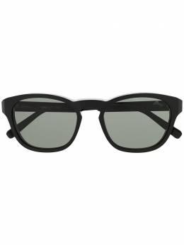 Brioni солнцезащитные очки в круглой оправе BR0082S